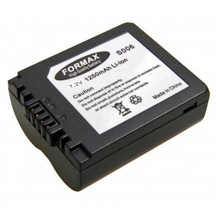 Náhrada batérie CGA-S006, BMA7 pre fotoaparát Panasonic