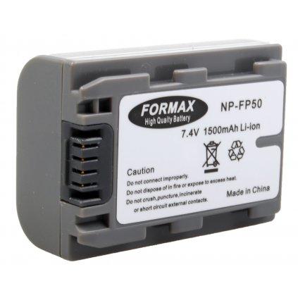 Batéria NP-FP50 1500mAh pre fotoaparáty DCR-HC 16, 16E, 17, 18