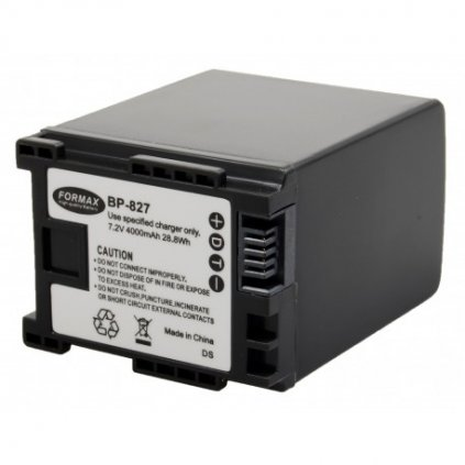 Batéria BP-827 s kapacitou 4000mAh pre fotoaparáty FS10, FS11, FS20