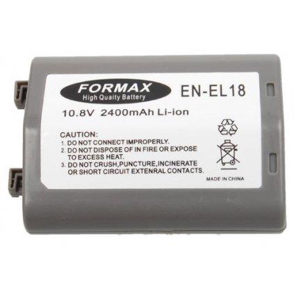 Batéria EN-EL18 s kapacitou 2400 mAh pre fotoaparáty Nikon D4 D4s
