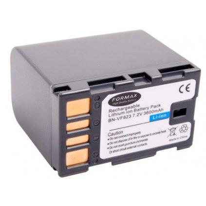 Batéria BN-VF823 s kapacitou 3600mAh pre fotoaparáty JVC GR-D720
