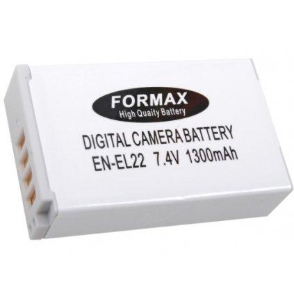 Náhrada batérie EN-EL22 s kapacitou 1300 mAh pre fotoaparáty Nikon