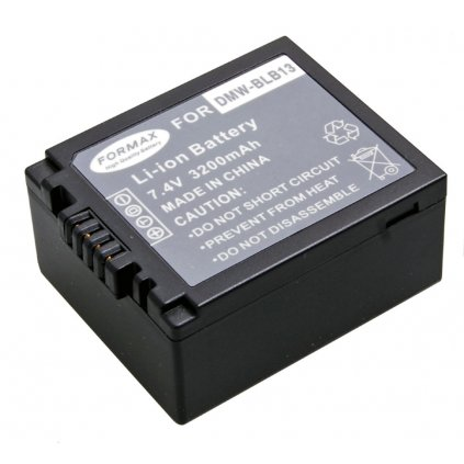 Batéria DMW-BLB13 3200mAh pre fotoaparáty Panasonic