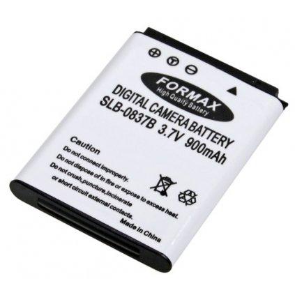 Batéria SLB-0837B s kapacitou 900mAh pre fotoaparáty Samsung Digimax L70, L70B, L83T