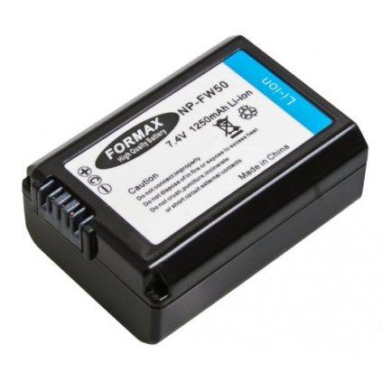 Náhrada batérie NP-FW50 pre fotoaparáty Sony