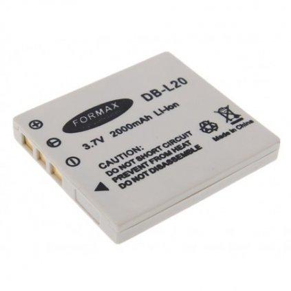 Batéria DB-L20 pre fotoaparáty Sanyo