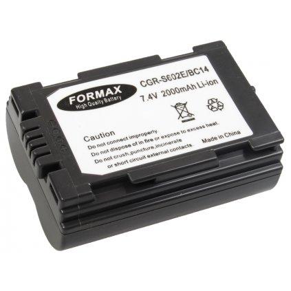 Batéria CGR-S602A pre fotoaparáty Panasonic