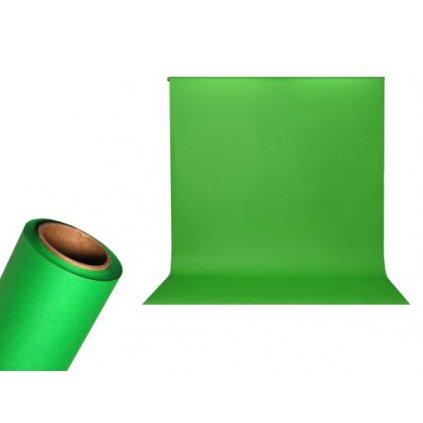 Papierové foto pozadie 1,36 x 5,5m zelené