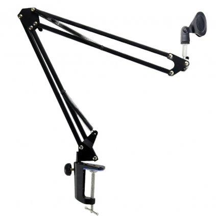 Stolový stojan s ramenom a držiakom mikrofónu 32 cm - 92 cm