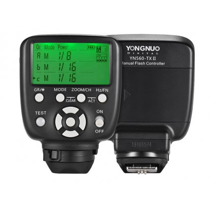 Riadiaca jednotka Yongnuo YN-560-TX II Nikon
