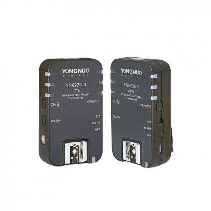 Bezdrôtový rádiový odpaľovač Yongnuo YN-622N - set 2x prijímač/vysielač do Nikon