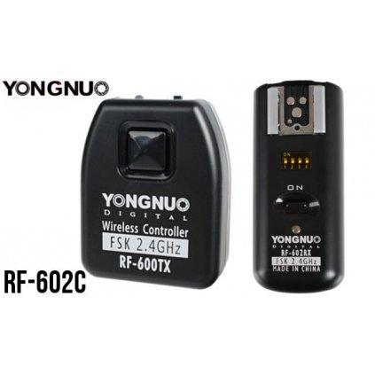 Sada odpaľovačov blesku Yongnuo RF-602C pre Canon