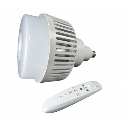LED žiarovka so závitom E27 150W 3 200-5 500K s diaľkovým ovládaním