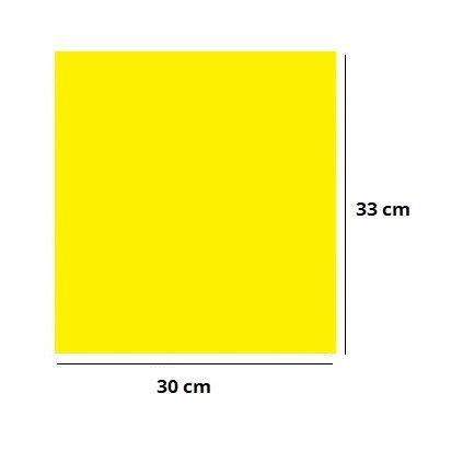 Akrylová podložka 30x33cm ŽLTÁ