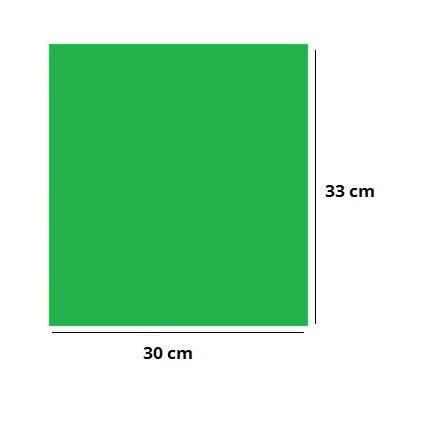Akrylová podložka 30x33cm ZELENÁ