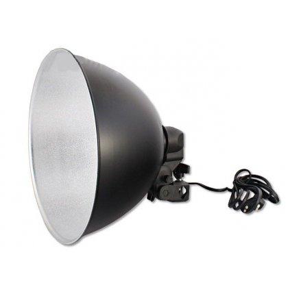 Držiak žiarovky s veľkým tienidlom s priemerom 26,5 cm pre závit E27