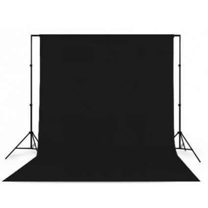 Konštrukcia + fotopozadie 1,6x5m čierne