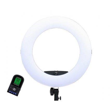 LED kruhové svetlo 5500K so stmievačom 96W model FE-480
