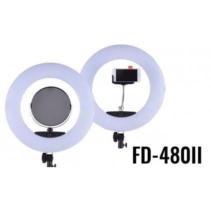 LED kruhové svetlo 3200 - 5500K so stmievačom 96W model FD-480 II