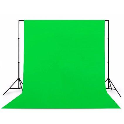 Konštrukcia + fotopozadie 1,6x5m kľučovacie zelené