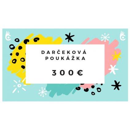 Darčeková poukážka Cvaknito.sk 300€