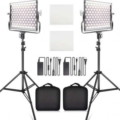 2x LED video svetlo 3200- 5500k