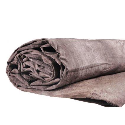 Mušelínové pozadie 2,6 x 3 m, hnedo-šedé