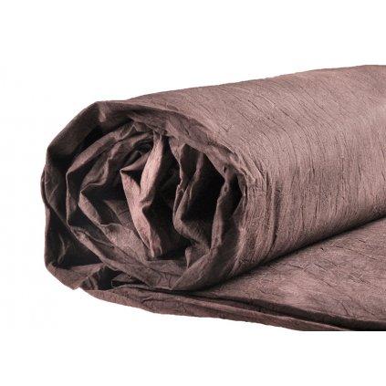 Mušelínové pozadie 2,6 x 3 m, studená hnedá
