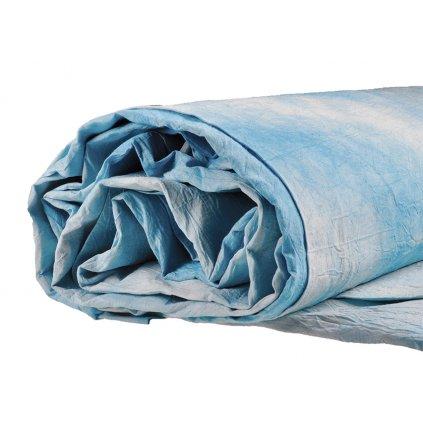 Mušelínové pozadie 2,6 x 3 m, bledo-modré