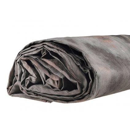 Mušelínové pozadie 3 x 6 m, šedo-hnedé