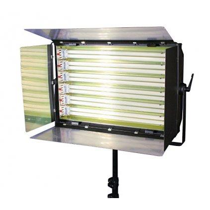 Kinoflo, trvalé panelové svetlo 1650 W (6 x 55 W)