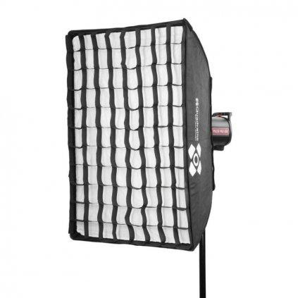 Voštinová mriežka Quadralite pre softbox 60x90cm