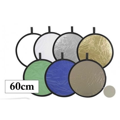 collapsible reflector disc 7in1 60cm