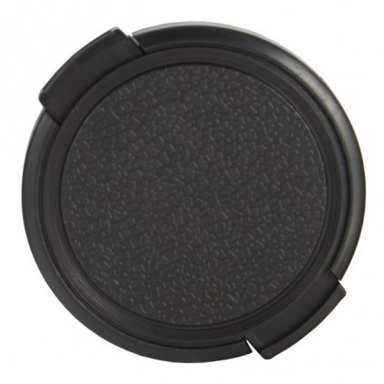 Krytka na objektív 86 mm, čierna
