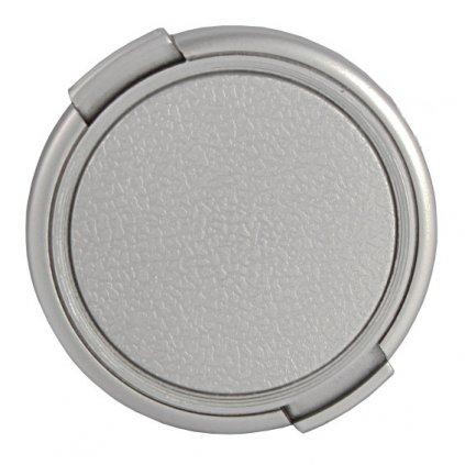 Krytka na objektív 58 mm, strieborná