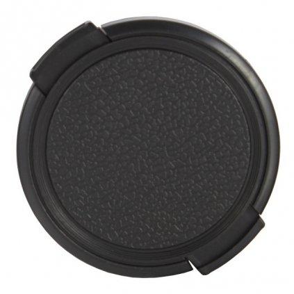 Krytka na objektív 55 mm, čierna