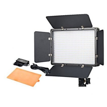 Fotografické panelové LED svetlo 5600K - 500 LED diód
