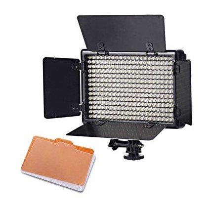 Fotografické panelové LED svetlo 5600K -  308 LED diód