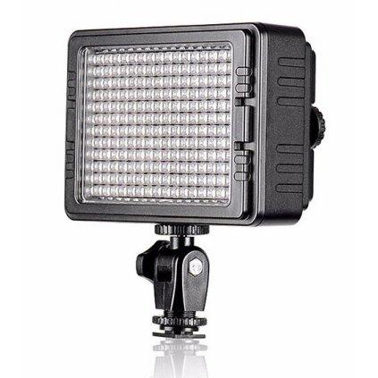 LED video svetlo 3200 - 5600K - 160 LED diód