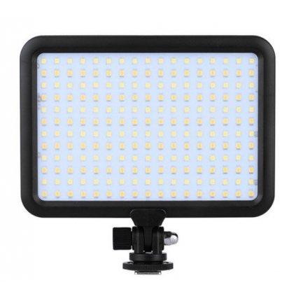 LED video svetlo s reguláciou farieb - 204 LED diód