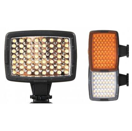 LED video svetlo - 56 LED diód + 2 filtre