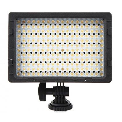 LED video svetlo - 216 LED diód + 2 filtre