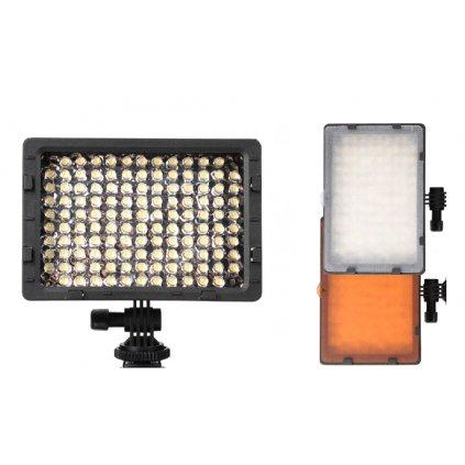 LED video svetlo - 126 LED diód + 2 filtre