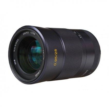 Objektív 25 mm f / 0,95 s bajonetom Micro 4/3