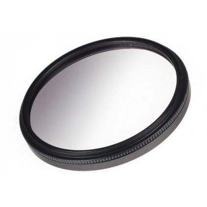 Šedý polovičný filter NDx4 58 mm