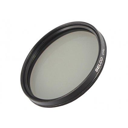 Cirkulárny polarizačný filter CPL 58 mm SELCO