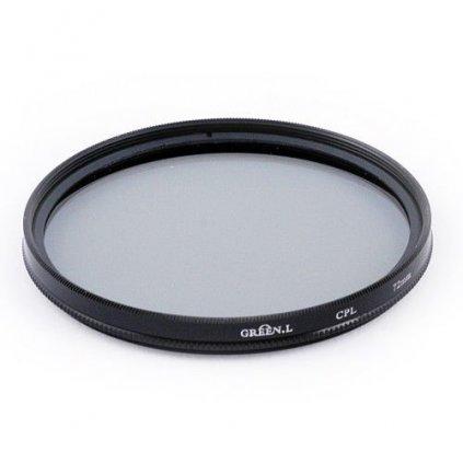 Cirkulárny polarizačný filter CPL 46 mm