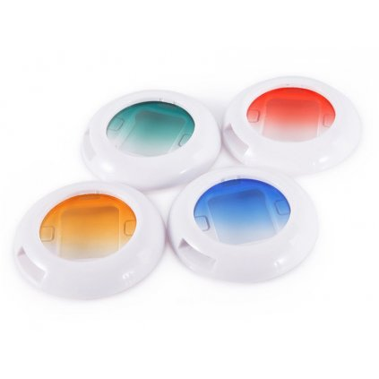 Farebné prechodové filtre pre fotoaparáty Instax 4ks