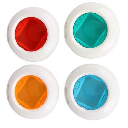 Farebné plné filtre pre fotoaparáty Instax 4ks