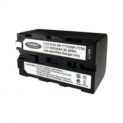 Batéria NP-F750 , 4900mAh 7,2V pre LED svetla YN 300 II a YN 600